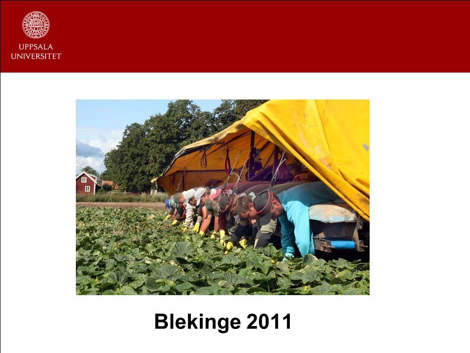 Blekinge 2011