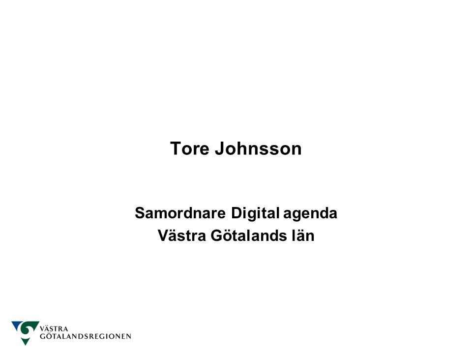 Samordnare Digital agenda Västra Götalands län