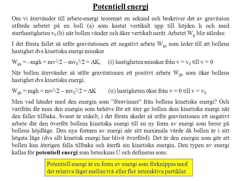 Potentiell energi
