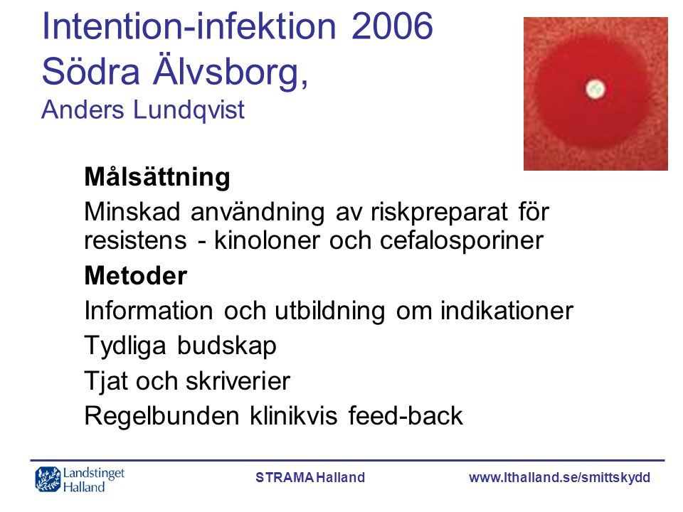 Intention-infektion 2006 Södra Älvsborg, Anders Lundqvist