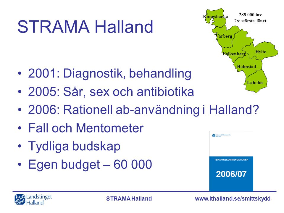 STRAMA Halland 2001: Diagnostik, behandling