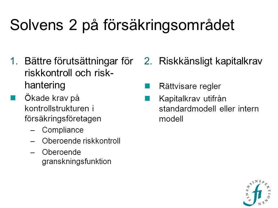 Solvens 2 på försäkringsområdet