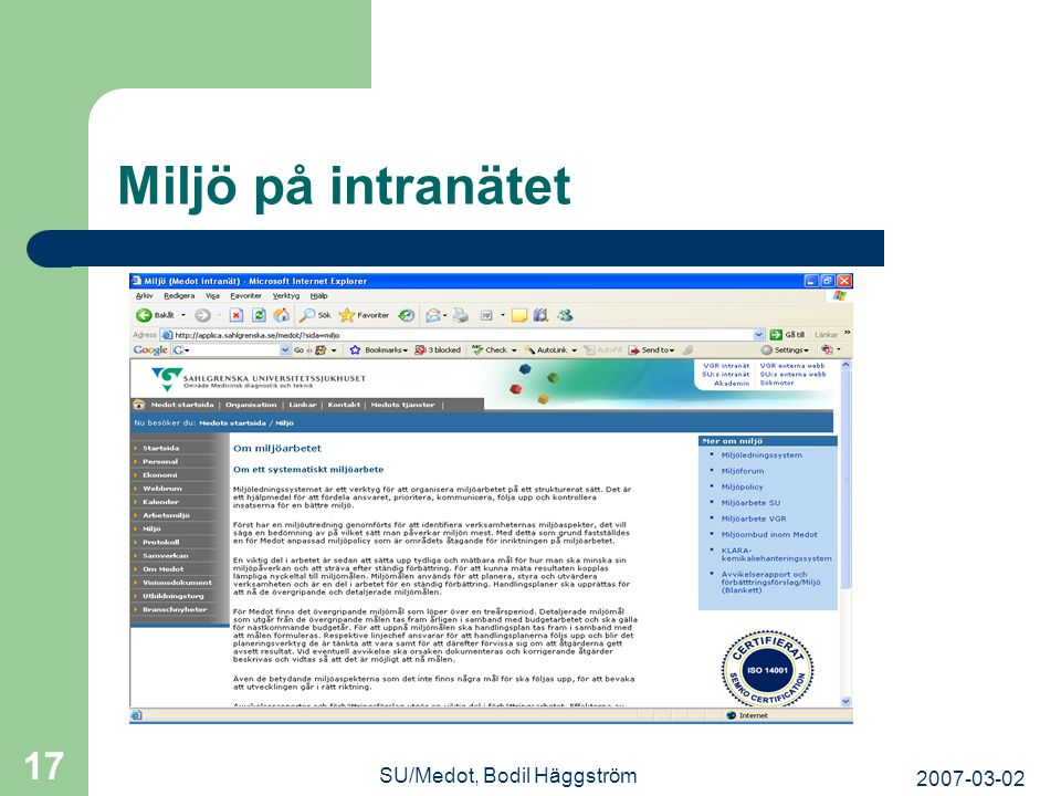 SU/Medot, Bodil Häggström