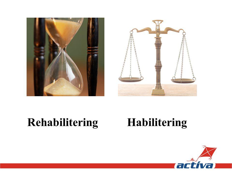 Rehabilitering Habilitering