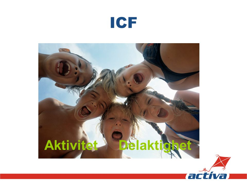ICF Aktivitet Delaktighet