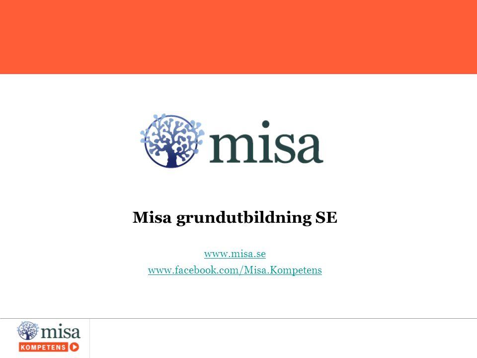 Misa grundutbildning SE