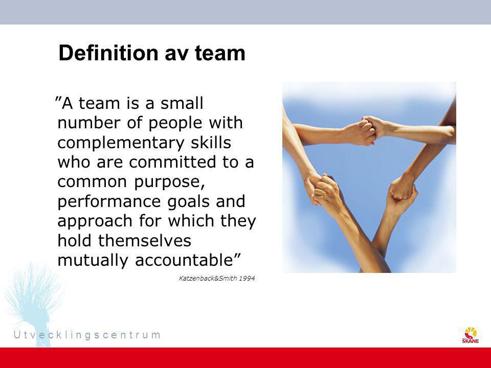 Definition av team