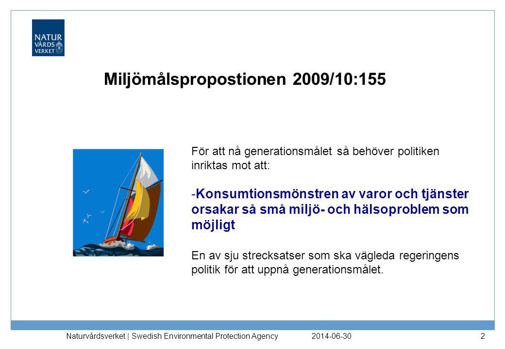 Miljömålspropostionen 2009/10:155