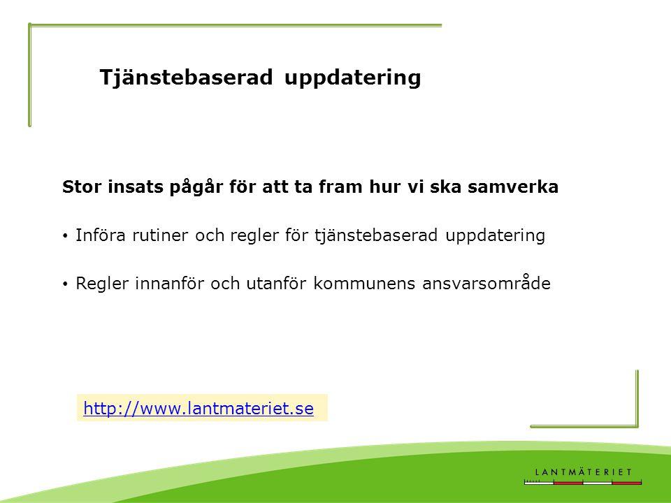Tjänstebaserad uppdatering