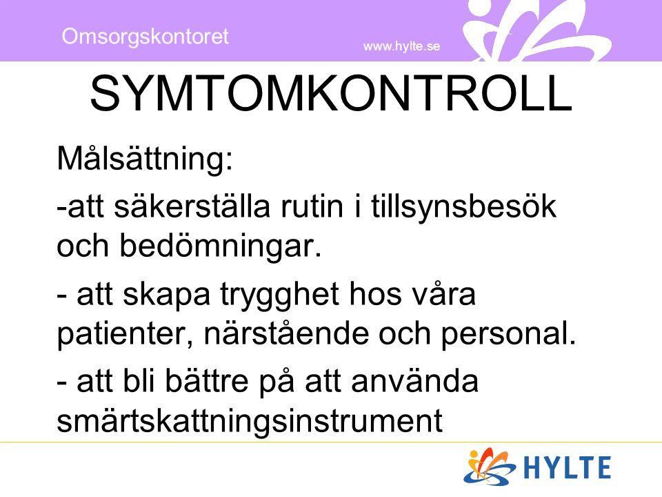 SYMTOMKONTROLL