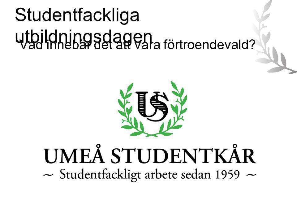 Studentfackliga utbildningsdagen