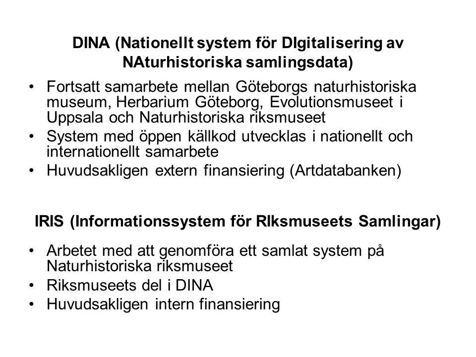 IRIS (Informationssystem för RIksmuseets Samlingar)