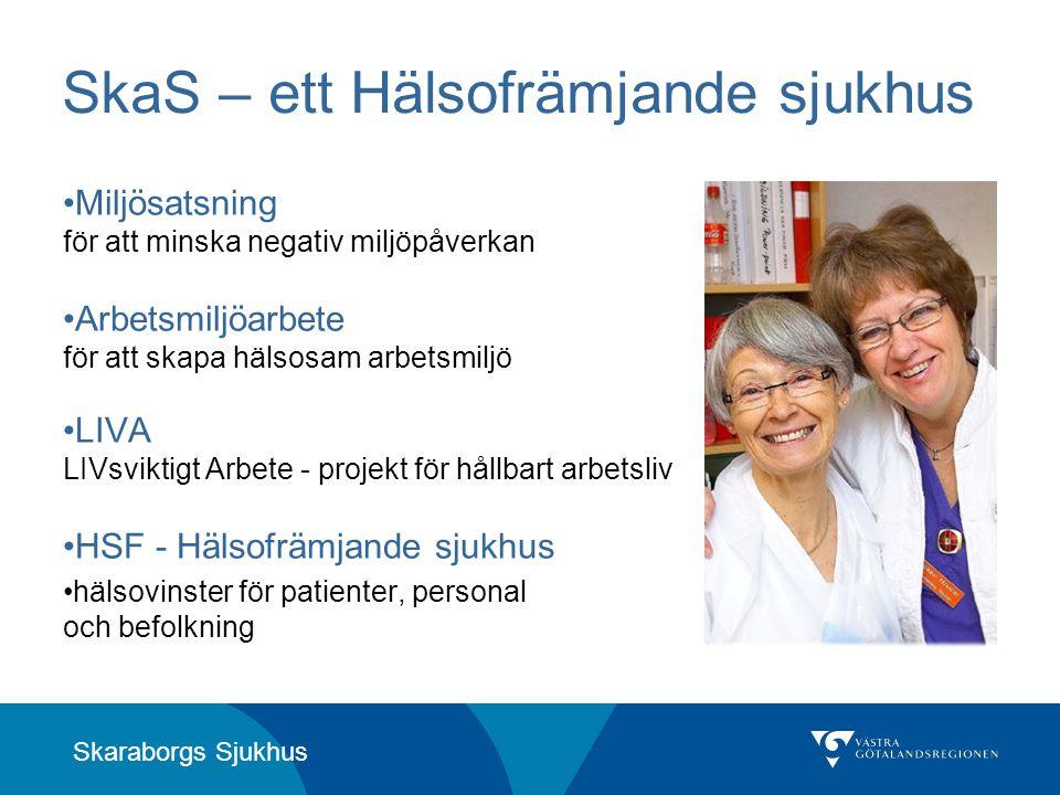 SkaS – ett Hälsofrämjande sjukhus