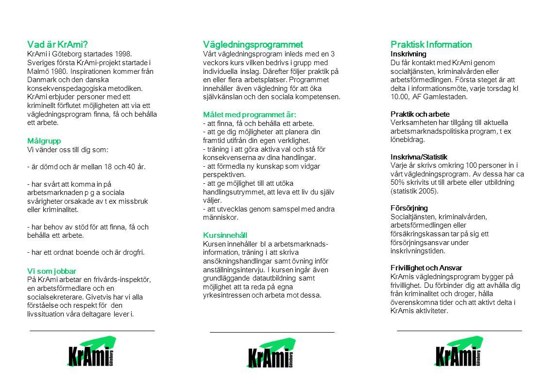 Vägledningsprogrammet Praktisk Information