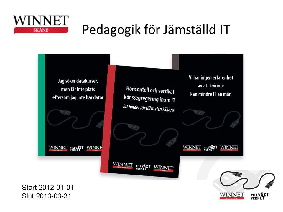 Pedagogik för Jämställd IT