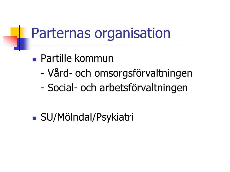 Parternas organisation