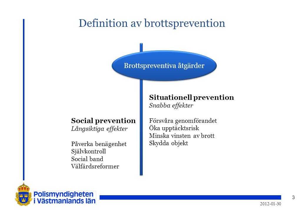 Definition av brottsprevention