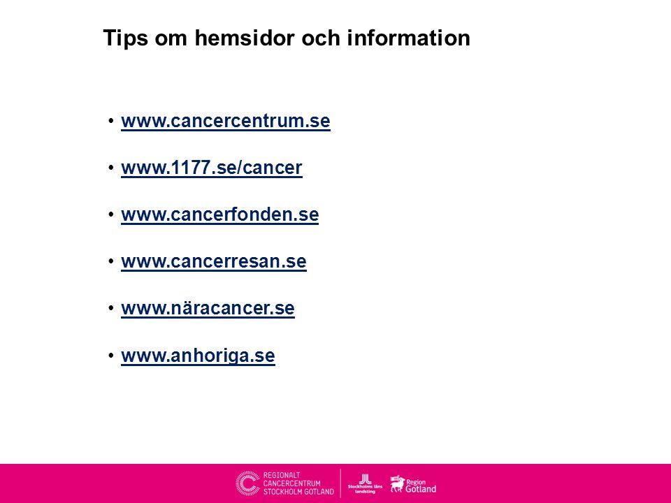 Tips om hemsidor och information