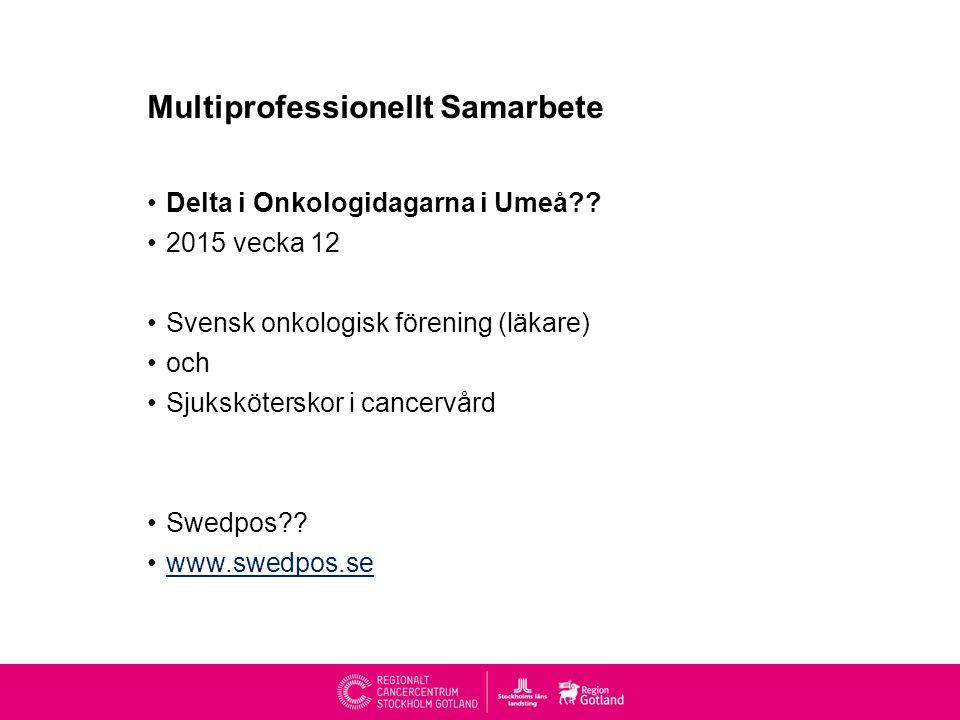 Multiprofessionellt Samarbete