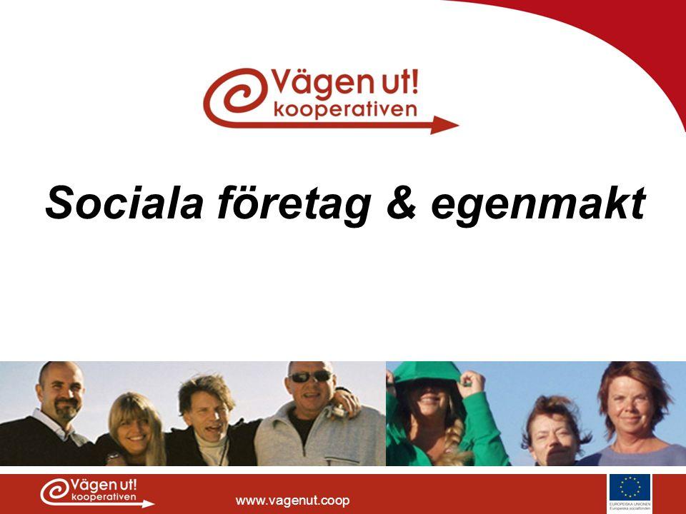 Sociala företag & egenmakt