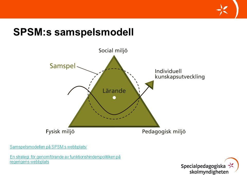 SPSM:s samspelsmodell