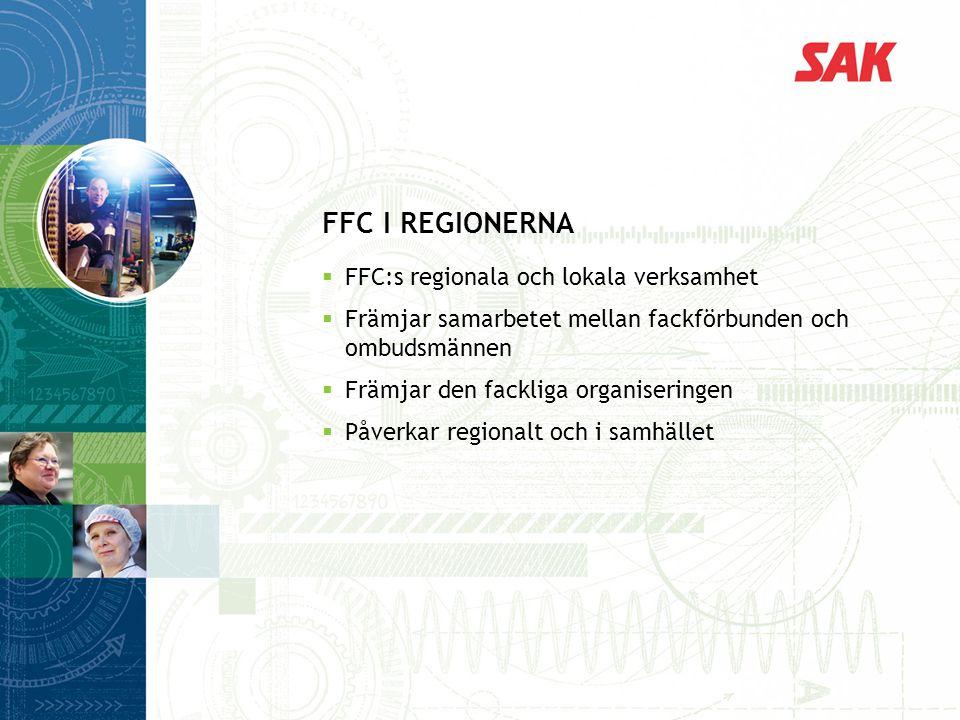 FFC i regionerna FFC:s regionala och lokala verksamhet