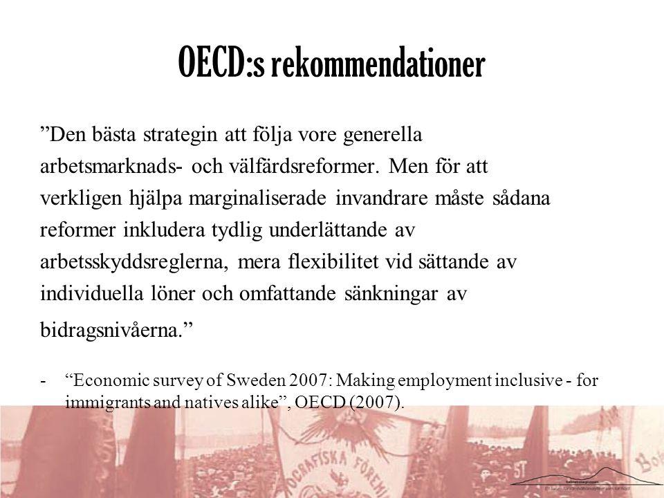 OECD:s rekommendationer