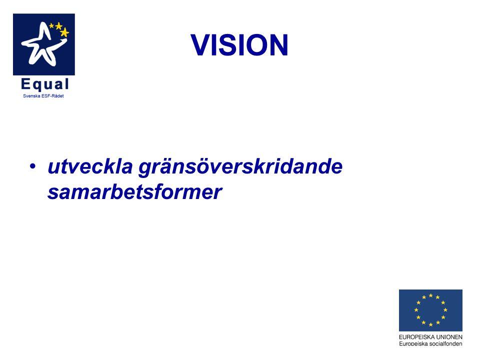 VISION utveckla gränsöverskridande samarbetsformer