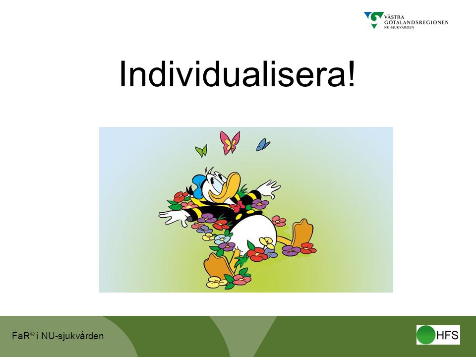 Individualisera!