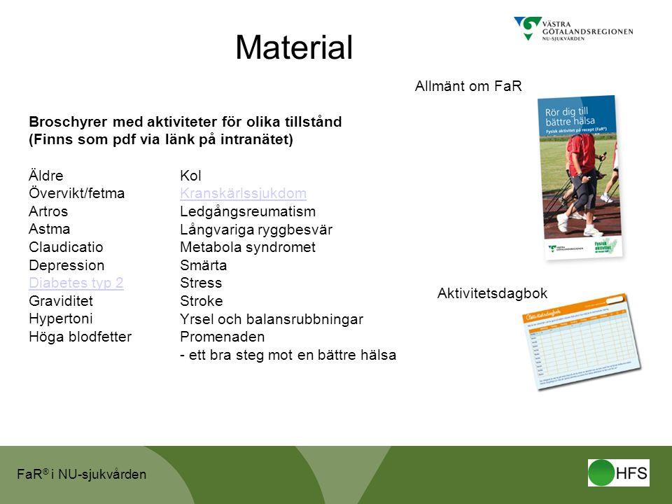 Material Allmänt om FaR