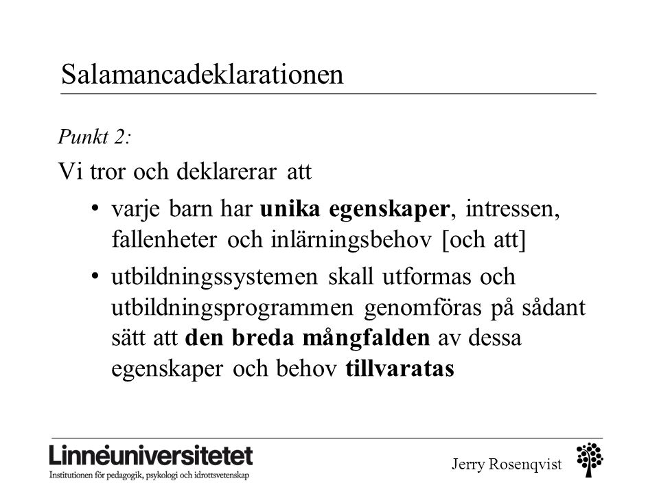Salamancadeklarationen