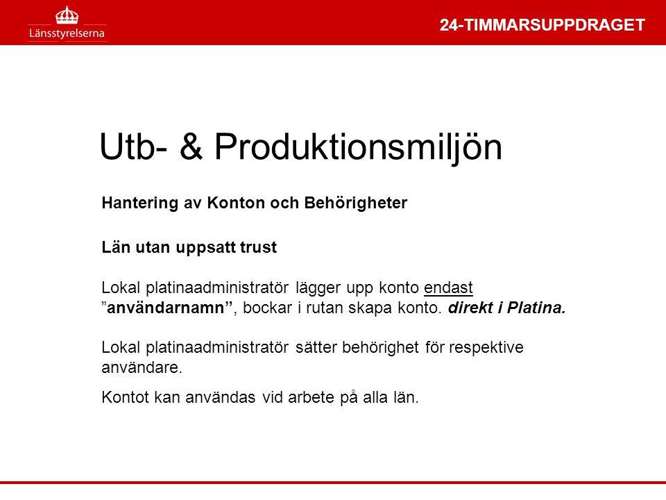 Utb- & Produktionsmiljön