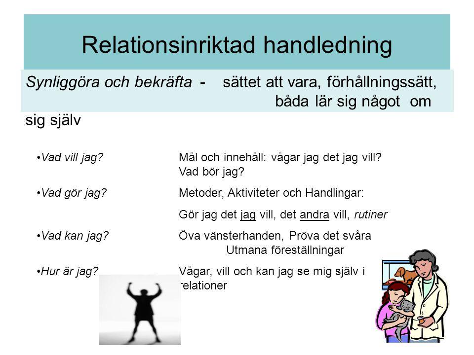 Relationsinriktad handledning