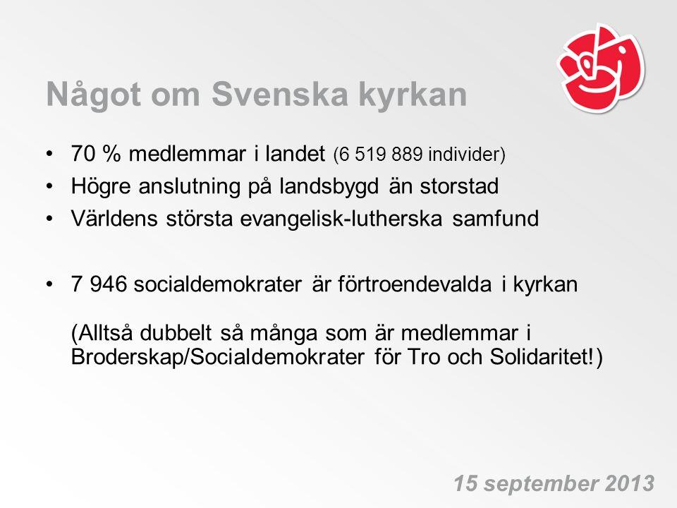 Något om Svenska kyrkan