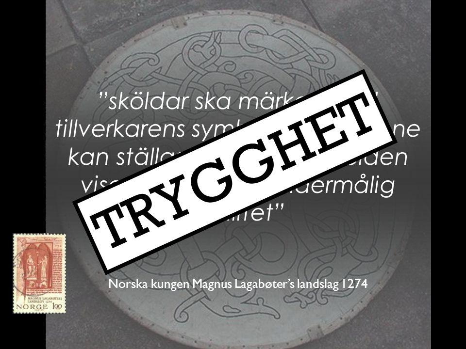 Norska kungen Magnus Lagabøter's landslag 1274