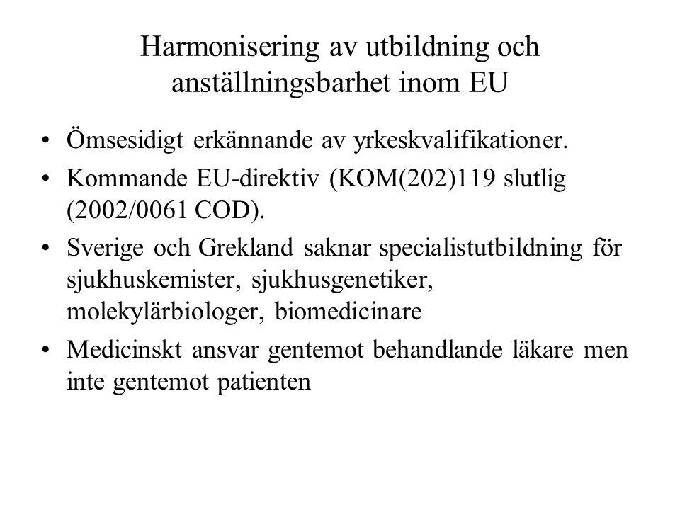 Harmonisering av utbildning och anställningsbarhet inom EU