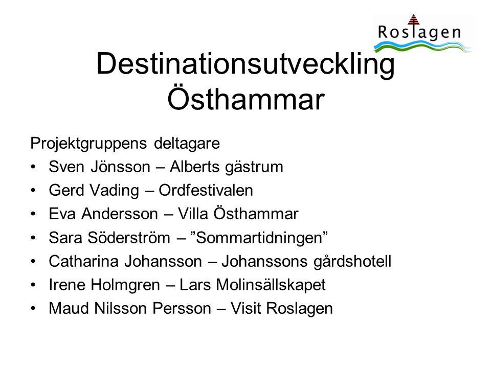 Destinationsutveckling Östhammar