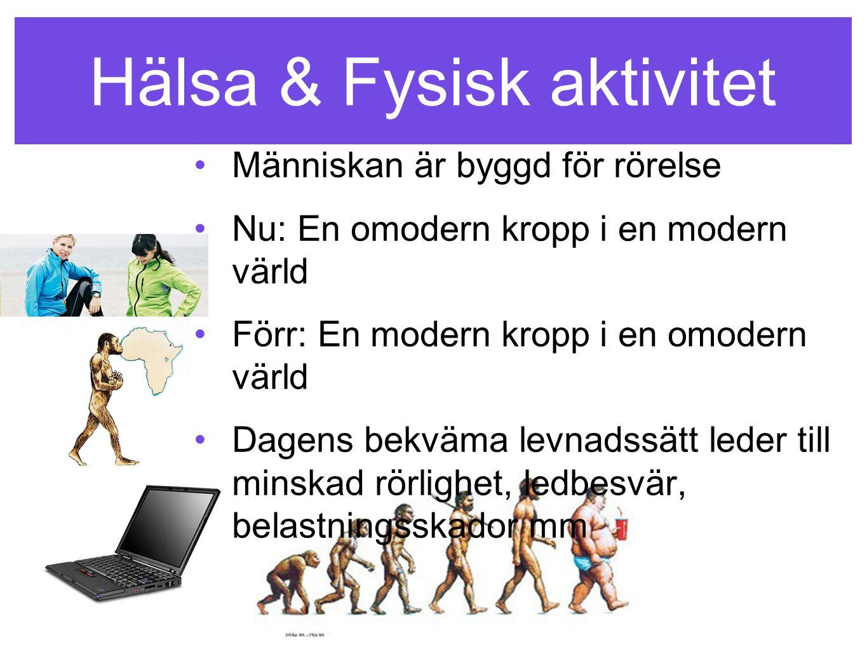 Hälsa & Fysisk aktivitet