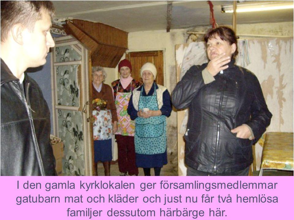 Alexey Kobelev är församlingsföretåndare i Krist Kärleks Kyrka