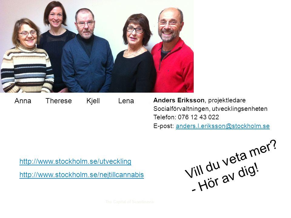 Anna Therese Kjell Lena Anders