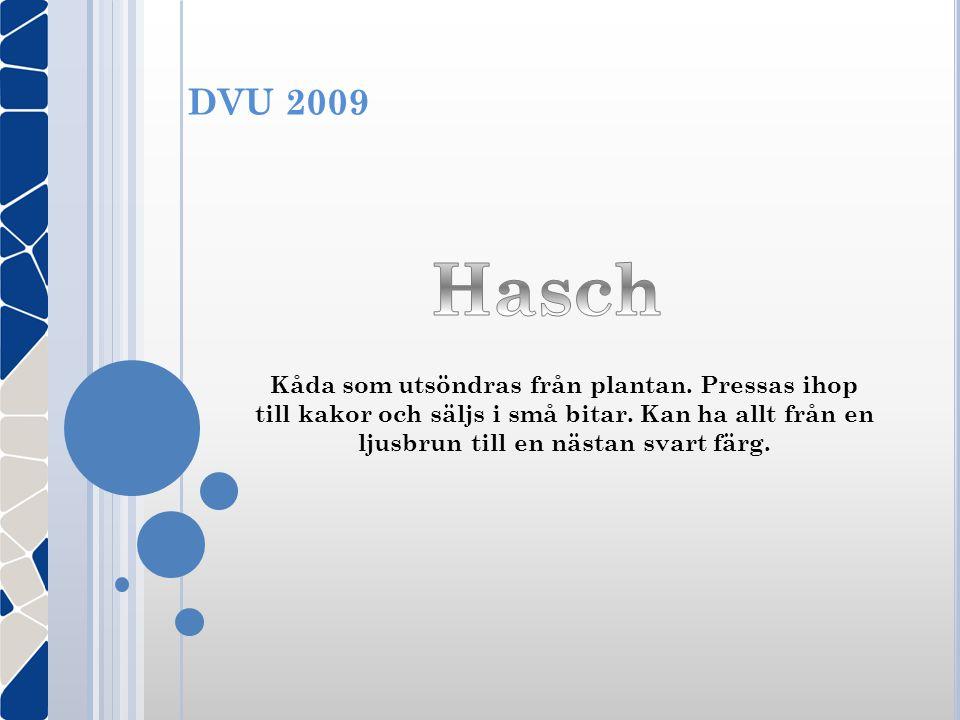 DVU 2009 Hasch.