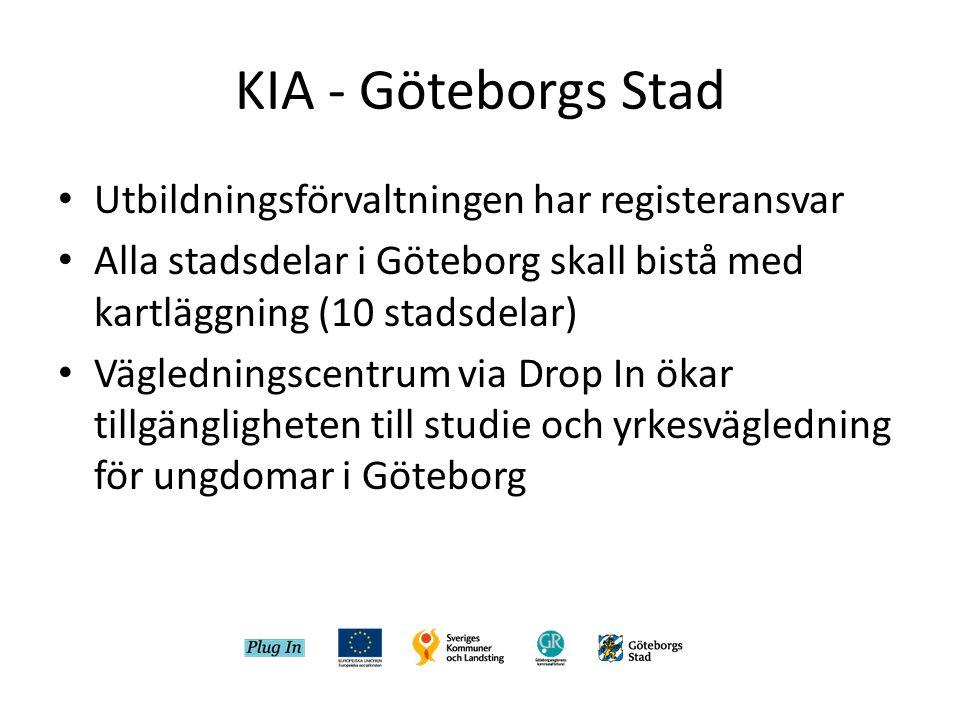 KIA - Göteborgs Stad Utbildningsförvaltningen har registeransvar