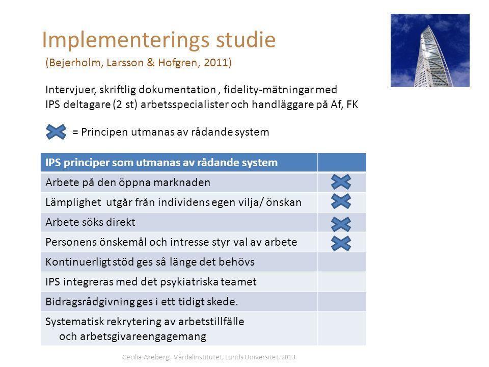 Implementerings studie