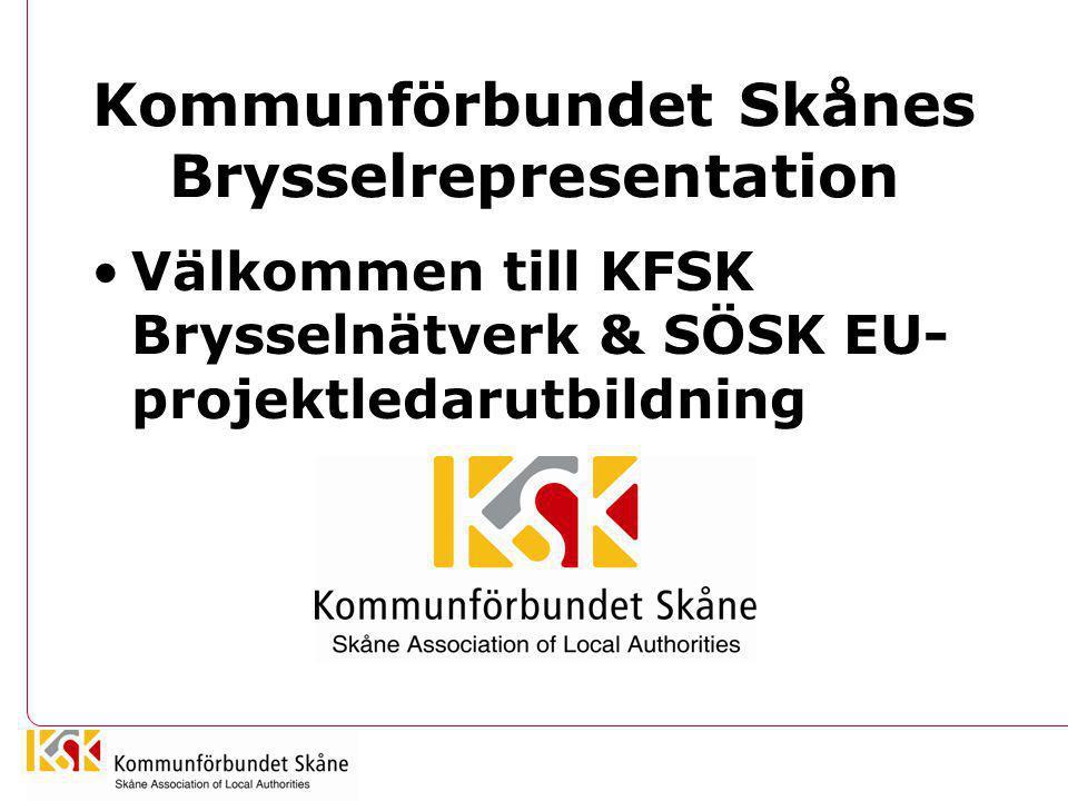 Kommunförbundet Skånes Brysselrepresentation