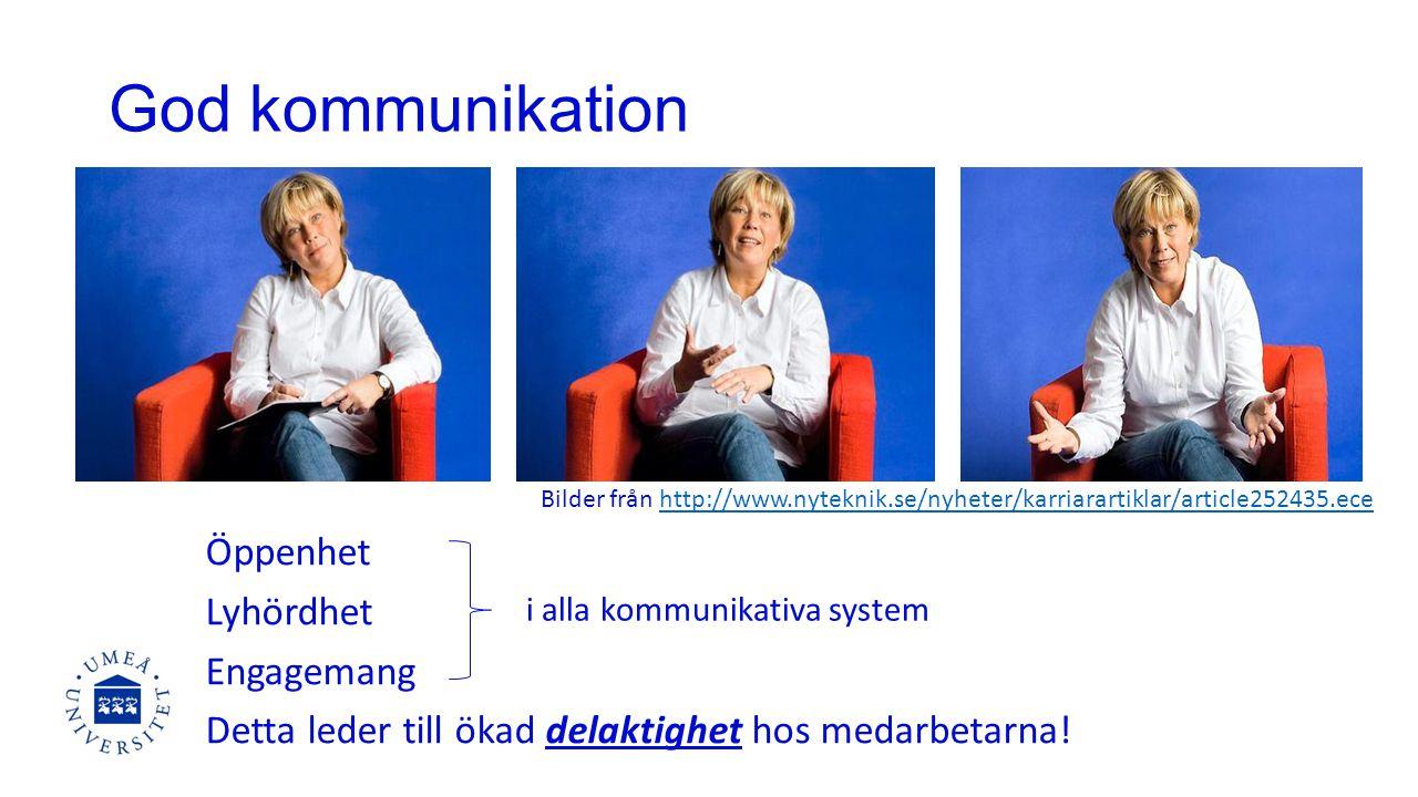 God kommunikation Bilder från http://www.nyteknik.se/nyheter/karriarartiklar/article252435.ece.
