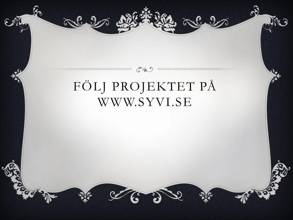 Följ projektet på www.syvi.se