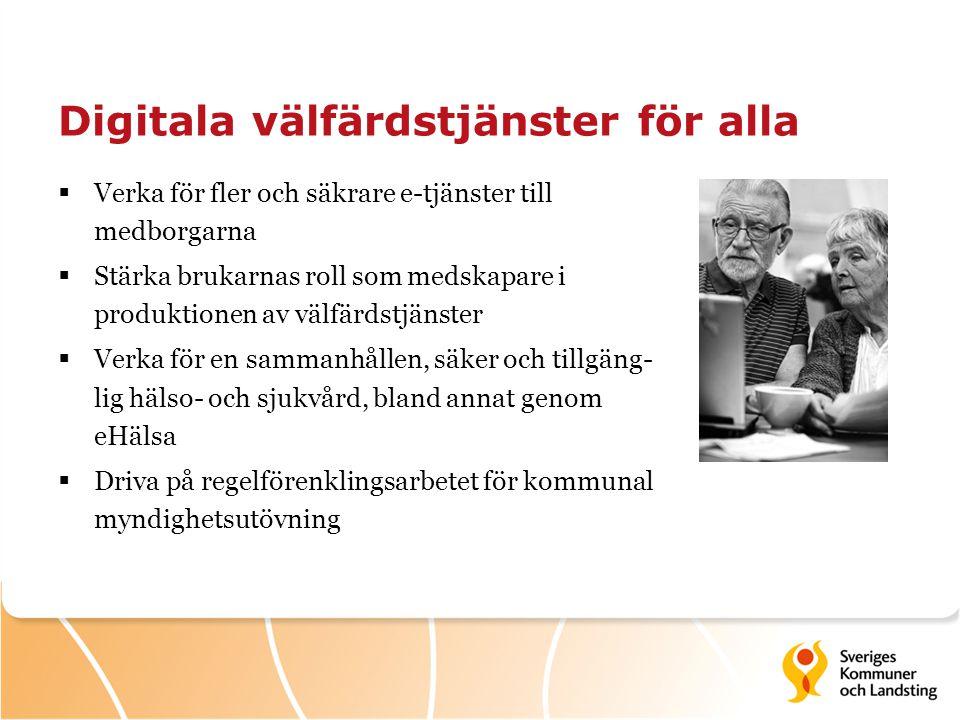 Digitala välfärdstjänster för alla