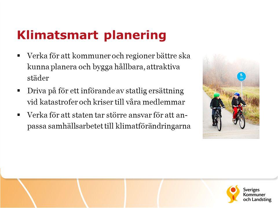 Klimatsmart planering