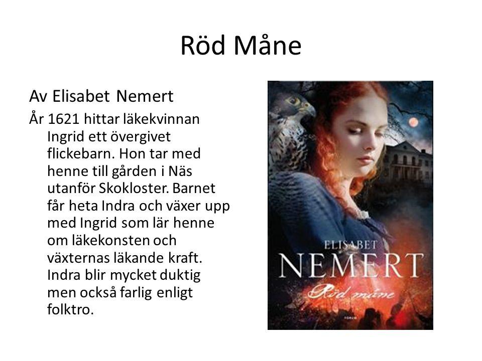 Röd Måne Av Elisabet Nemert