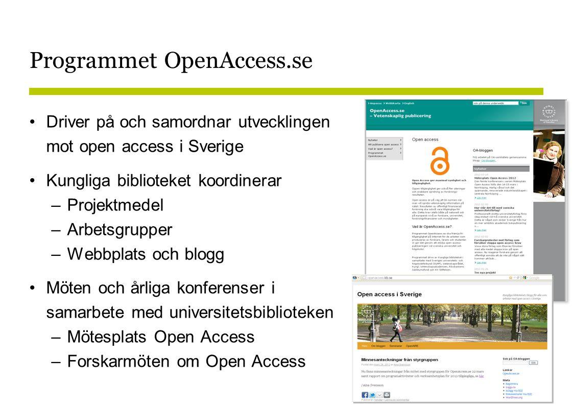 Programmet OpenAccess.se